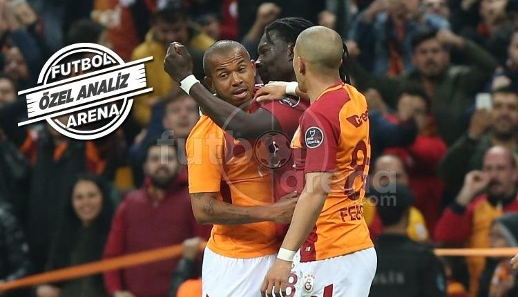 Mariano, Galatasaray - Başakşehir maçına damga vurdu