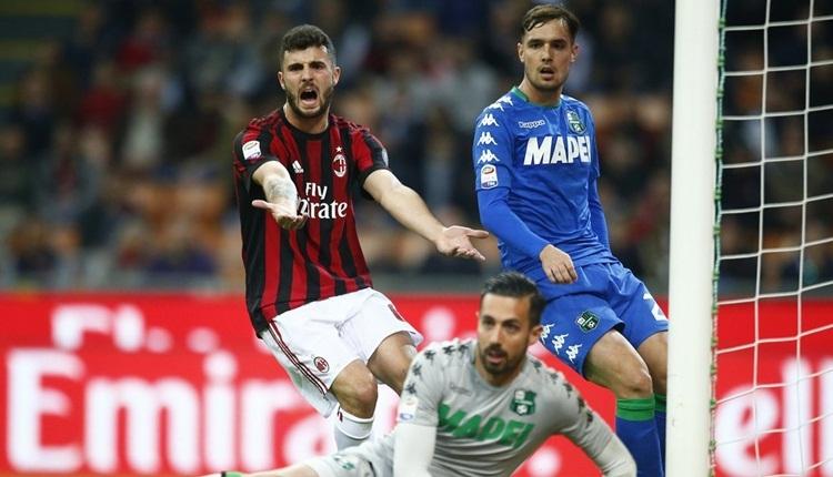 Milan 1-1 Sassuolo maç özeti ve golleri (İZLE)