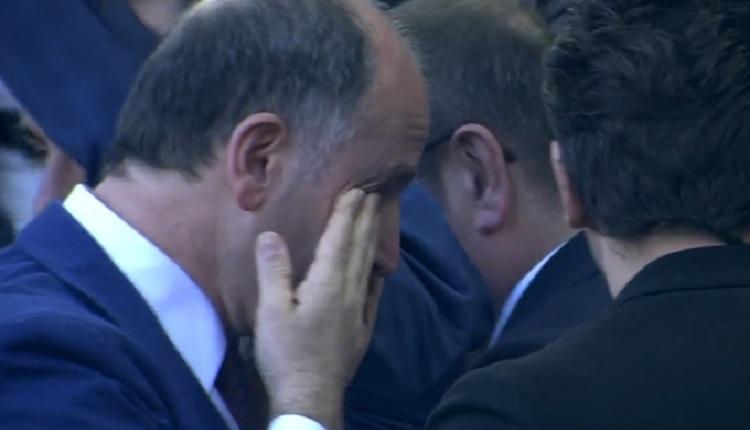 Muharrem Usta Kayserispor maçı sonrası ağladı