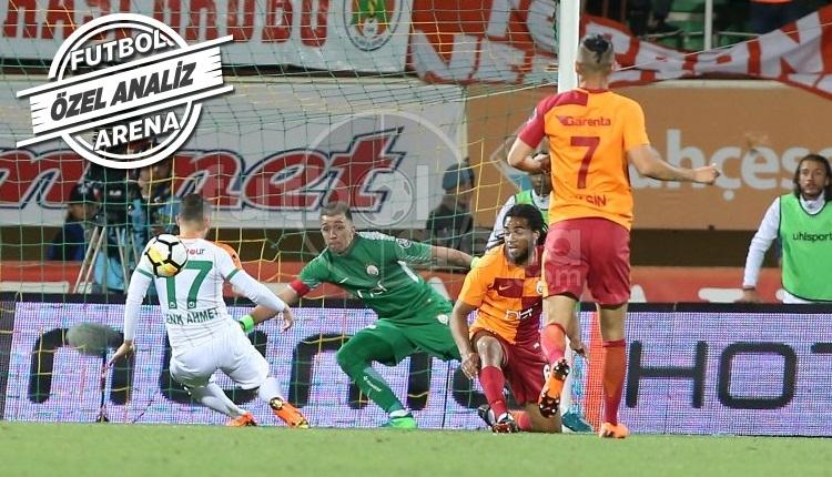 Muslera, Alanyaspor - Galatasaray maçına damga vurdu