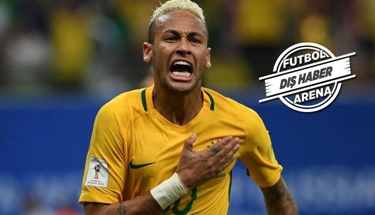 Neymar'dan Dünya Kupası müjdesi