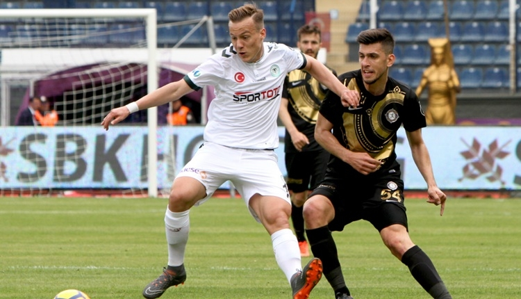 Osmanlıspor 0 - 0 Atiker Konyaspor maçın özeti (İZLE)