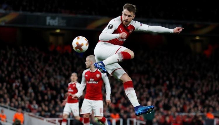 Ramsey'den CSKA Moskova'ya muhteşem gol İZLE