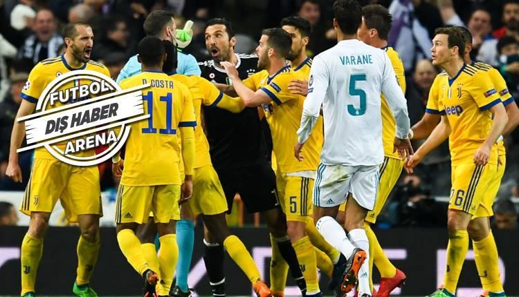 Real Madrid'in penaltısı İspanya'da olay yarattı