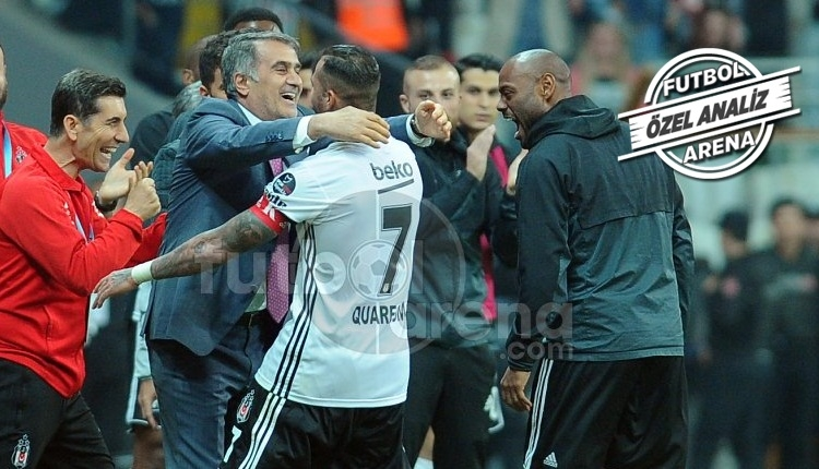 Ricardo Quaresma, Beşiktaş'ı galibiyete taşıdı