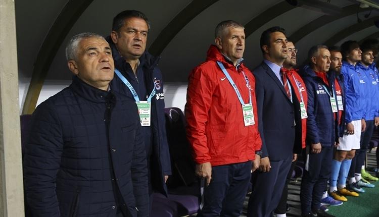 Rıza Çalımbay Osmanlıspor maçı sonrası şanssızlıklardan dert yandı