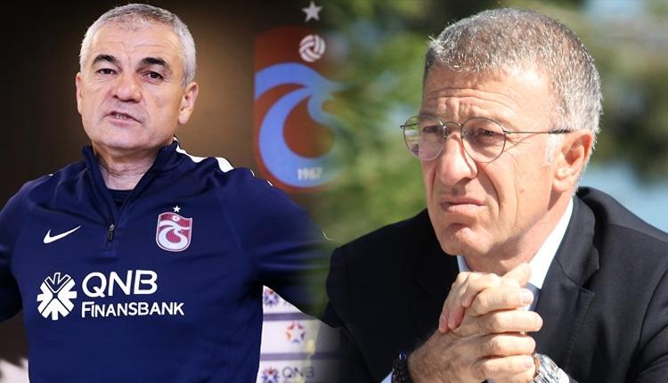 Rıza Çalımbay, Trabzonspor'dan ayrılacak mı? Resmi açıklama geldi