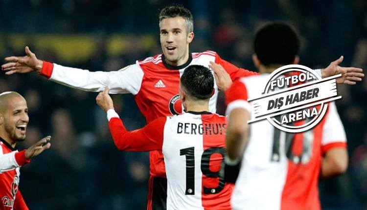 Robin van Persie, Feyenoord'u çileden çıkardı