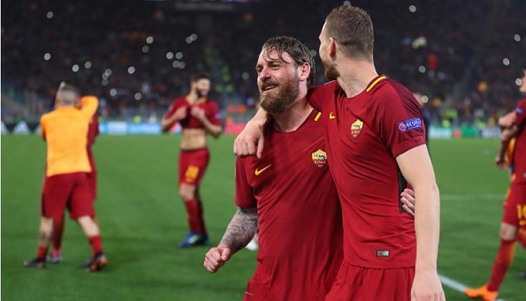 Roma, Şampiyonlar Ligi tarihine geçti