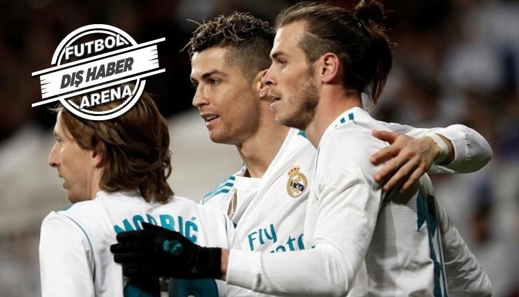Ronaldo'nun golünde Gareth Bale'ın görüntüsü olay yarattı