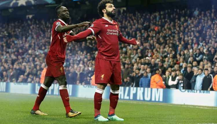 Salah'ın Roma'ya attığı golü İZLE