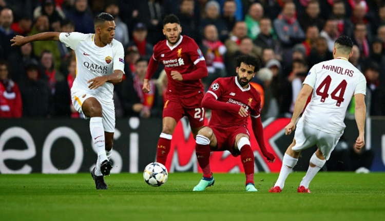 Salah'tan Roma'ya muhteşem gol (Salah'ın Roma'ya attığı golü İZLE)