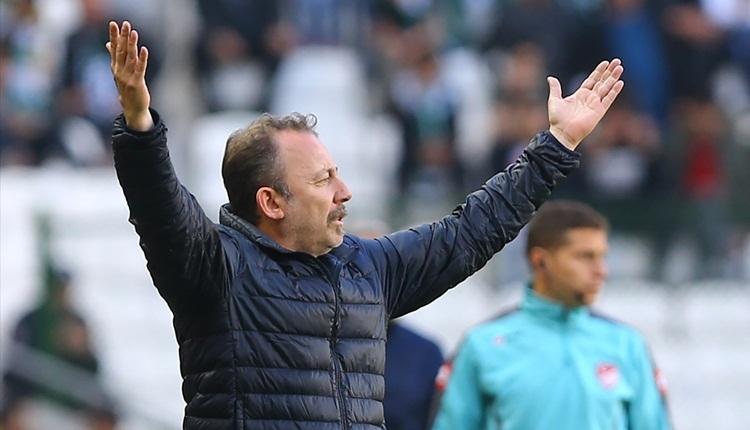 Sergen Yalçın: 'Konyaspor curcunanın göbeğinde'