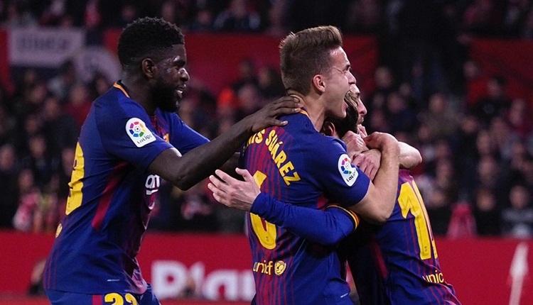 Sevilla 2-2 Barcelona maç özeti ve golleri (İZLE)