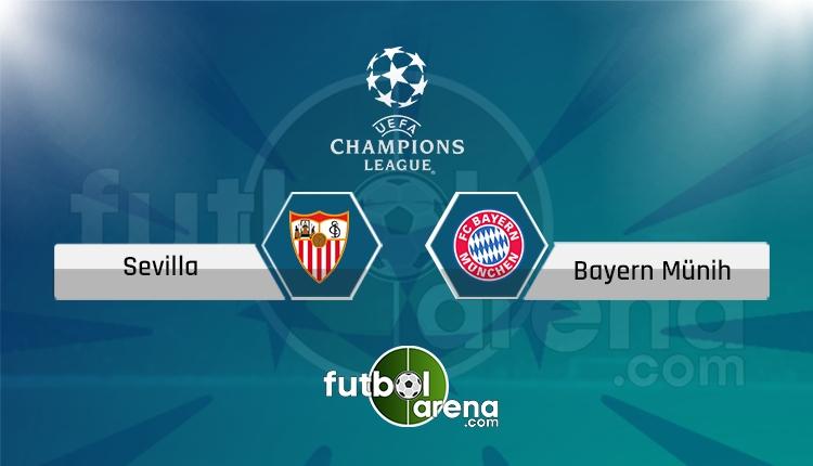 Sevilla -Bayern Münih Tivibu Spor canlı ve şifresiz izle