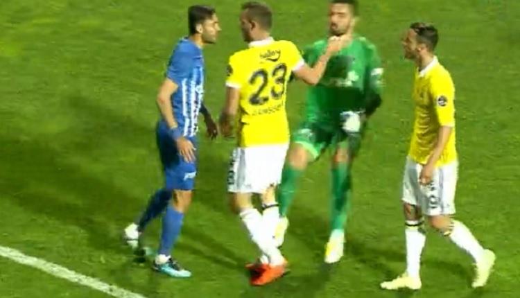 Soldado ile Veysel Sarı arasında gerilim! (Kasımpaşa - FB maçı)