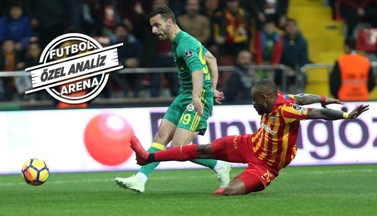 Soldado, Kayserispor - Fenerbahçe maçına damga vurdu