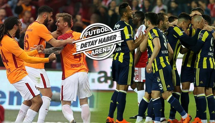 Son 20 yılın iç saha performansında Fenerbahçe - Galatasaray farkı