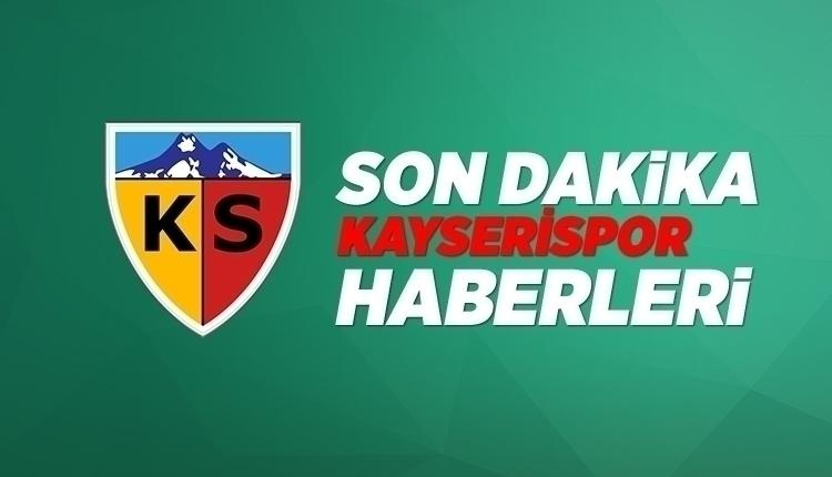 Son Dakika Kayserispor Haberi: Gençlerbirliği maçı öncesi flaş gelişme (11 Nisan 2018 Çarşamba)