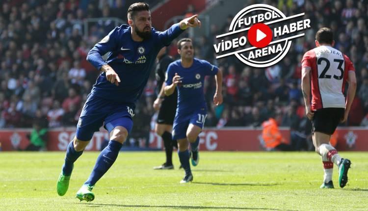 Southampton 2-3 Chelsea maçı özeti ve golleri (İZLE)