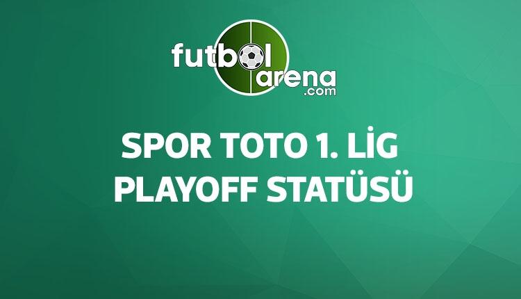 Spor Toto 1. Lig playoff statüsü (1. Lig playoff maçları eşleşmeleri nasıl oluyor?)