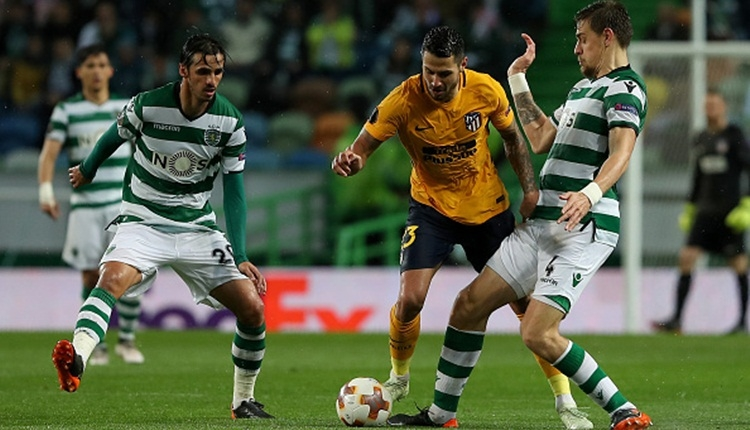 Sporting Lisbon 1-0 Atletico Madrid maç özeti ve golü (İZLE)
