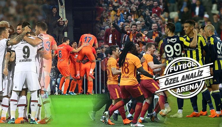 Süper Lig'de şampiyonluğun şifresi 30. hafta