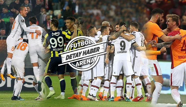 Süper Lig'de son 5 haftada hangi takım, kaç puan toplar? (Galatasaray, Beşiktaş, Başakşehir, Fenerbahçe)
