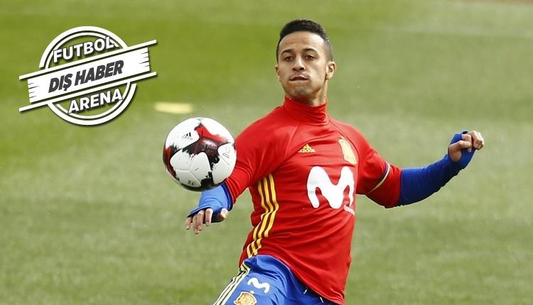 Thiago Alcantara transferinde Manchester City ve Manchester United yarışıyor