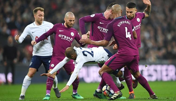 Tottenham 1-3 Manchester City maç özeti ve golleri İZLE