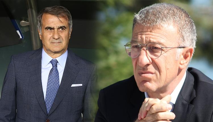Trabzonspor Başkanı Ahmet Ağaoğlu, Şenol Güneş'i ziyaret etti