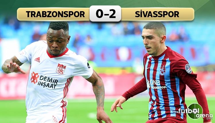Trabzonspor'a evinde Sivasspor darbesi! (İZLE)