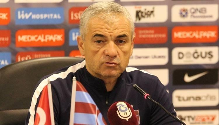 Trabzonspor'da Rıza Çalımbay'dan istifa açıklaması