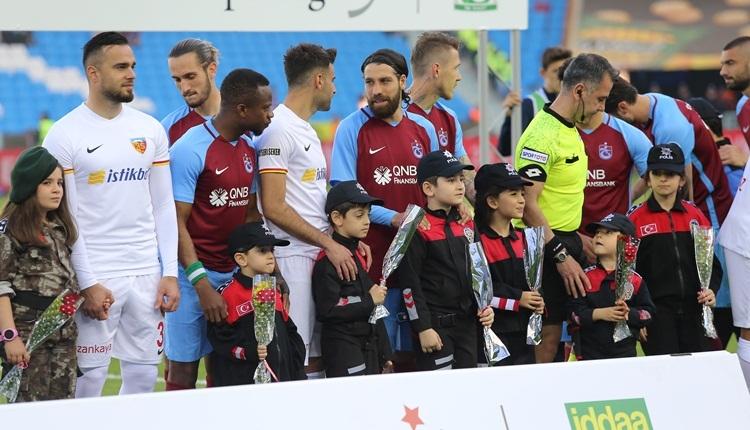 Trabzonspor'dan Kayserispor'a jest! Dostluk rüzgarları