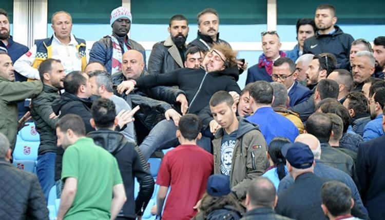 Trabzonspor-Kayserispor maçında protokol karıştı