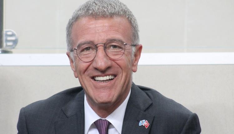 Trabzonspor'un yeni başkanı Ahmet Ağaoğlu: 'Güzel günler önümüzde'