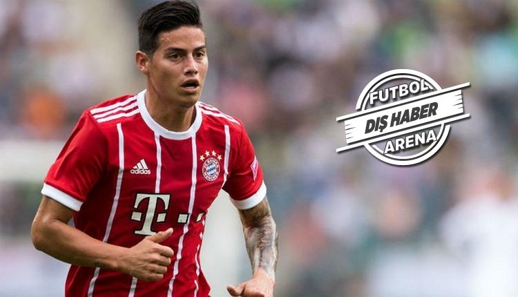 Haberleri: Bayern Münih'den James Rodrigues için 42 milyon Euro