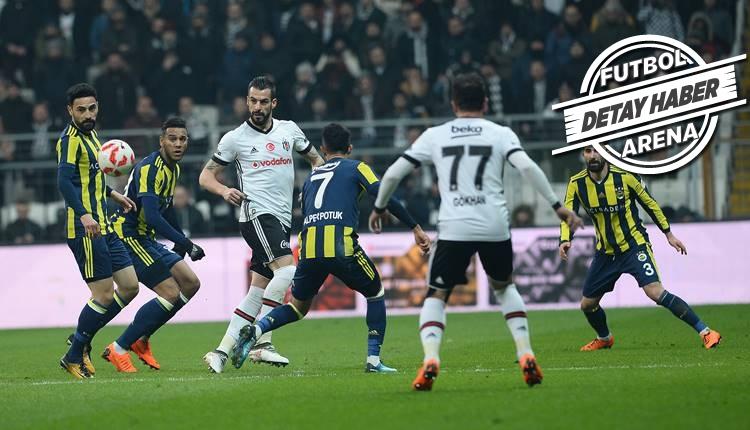 Türkiye Kupası'nda Beşiktaş, Fenerbahçe'ye üstün