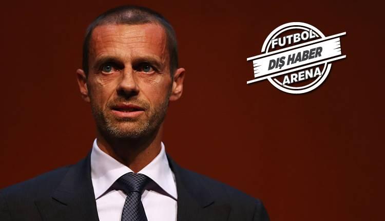 UEFA Başkanı Ceferin'den Galatasaray açıklaması! FFP