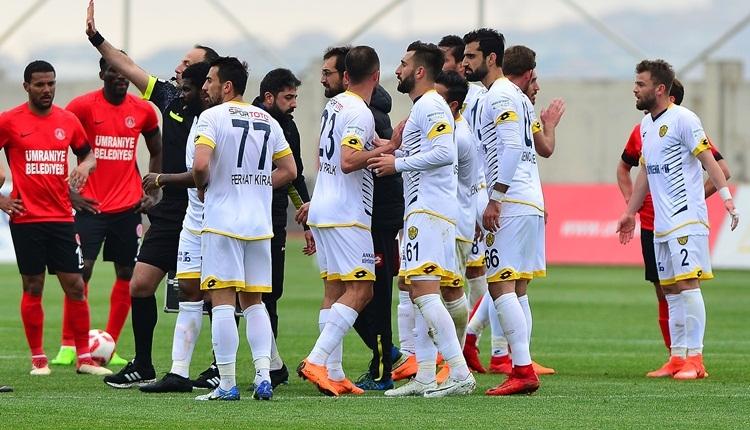 Ümraniyespor 1-1 Ankaragücü maç özeti ve golleri (İZLE)