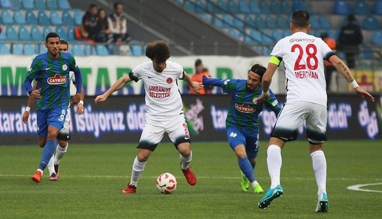 Ümraniyespor Çaykur Rizespor maçı beIN Sports canlı şifresiz izle