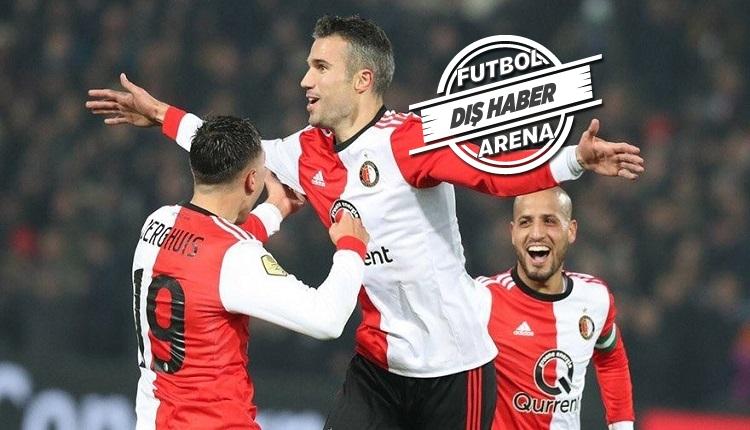 Van Persie'den Feyenoord - Utrecht maçında şık gol (İZLE)