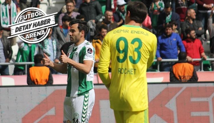 Volkan Şen 2 yıl sonra gol attı! Konyaspor'da Skubic fırtınası