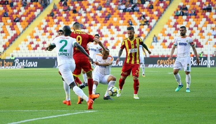 Yeni Malatyaspor 1-1 Alanyaspor maç özeti ve golleri (İZLE)