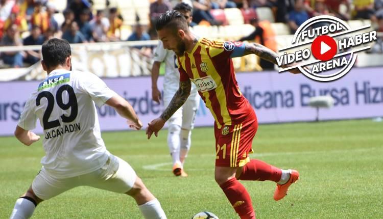 Yeni Malatyaspor - Akhisarspor maçı özeti (İZLE)
