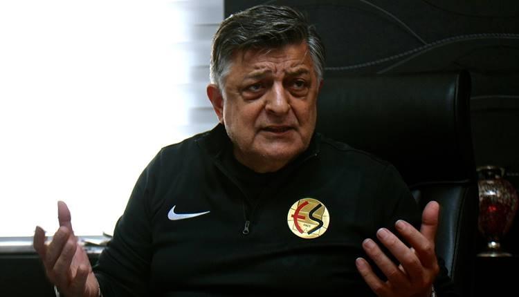 Yılmaz Vural'dan açıklama! Eskişehirspor ligde kalacak mı?