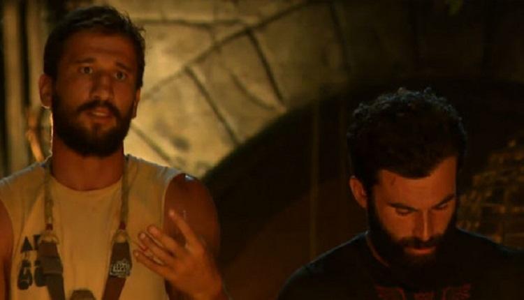 Adem Turabi kavgası montajsız video görüntüleri (İZLE) - Survivor'da Adem ve Turabi kavgası TV'de olmayan görüntüler