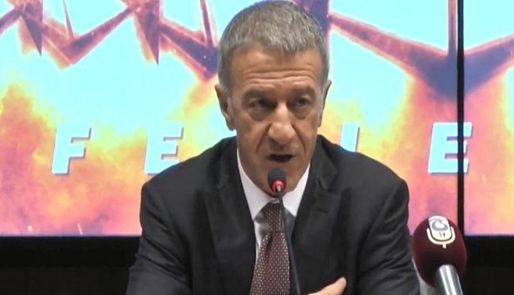 Trabzonspor'da Ahmet Ağaoğlu'ndan teknik direktör açıklaması