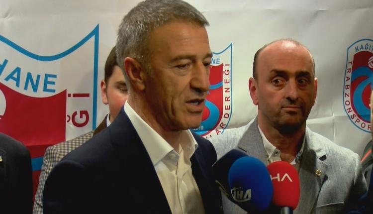 Ahmet Ağaoğlu: 'Hocamız belli, zamanı gelince açıklayacağız'