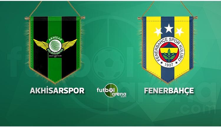 Akhisarspor ile Fenerbahçe karşı karşıya! İlk 11'ler